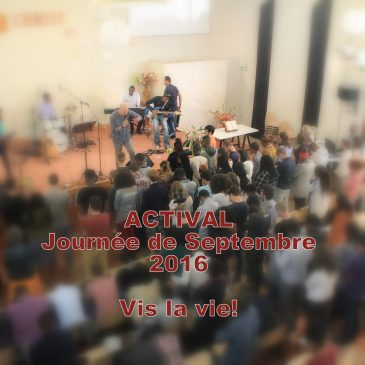 Actival – Journée de Septembre 2016